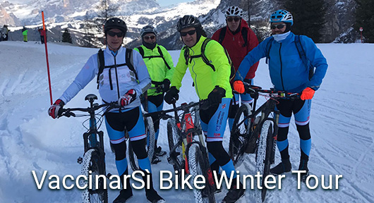VaccinarSì Bike Winter Tour